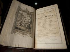 The first King James Bible was printed in New York in 1792. The King James version is the Bible most adults own, according to a new survey.