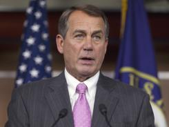 House Speaker John Boehner and fellow Republicans have faced hostile questions from constituents over the health care plan.