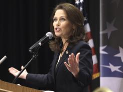 Ten Tea Party Republicans, under Rep. Michele Bachmann's leadership, collected at least 33% of their contributions this year from  political committees.