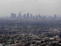 Air quality has improved in the Los Angeles metro area, which is still the smoggiest.