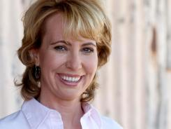 Rep. Gabrielle Giffords is headed to Florida from Houston for her husband Mark Kelly's space shuttle launch on Friday.
