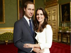 """1 more day: Prince William and Catherine """"Kate"""" Middleton."""