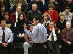 House Budget Committee Chairman Paul Ryan speaks at Franklin High School, as he tours throughout his district over the Easter recess, sometimes making five stops in a day.