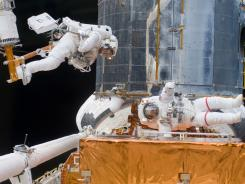Shuttle mission: Repair and improve the Hubble in 2009.