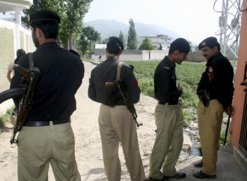compound where bin Laden. in Laden in Abbottabad on