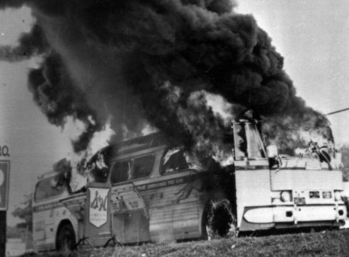 Freedom+riders+bus+bombing