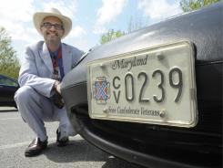 """""""We're trying to divest ourselves of the negative associations"""" with the Confederate flag, said Jay Barringer, commander of the Maryland Division of Sons of Confederate Veterans."""