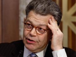 Sen. Al Franken is scheduled to hold a hearing Tuesday on the personal information collected through mobile devices.