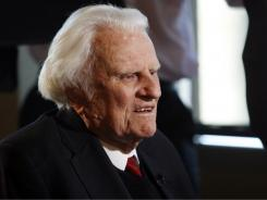 Doctors say Evangelist Billy Graham, 92, came to Mission Hospital in Asheville, N.C., Wednesday morning after suffering a health episode overnight. Initial testing suggest pneumonia, and diagnostic studies show his heart is normal.