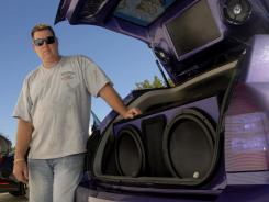 Tom Palumbo received a noise pollution ticket under Florida law for loud music coming from his  2005 Dodge Magnum.