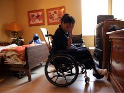 Sandrise Vital, who was paralyzed in the 2010 Haitian quake, was issued a tourist visa when she was taken to Florida for care.