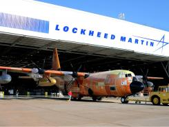 Top contractor Lockheed Martin discloses gift ranges but not specific amounts given to third-party, politically active trade groups.