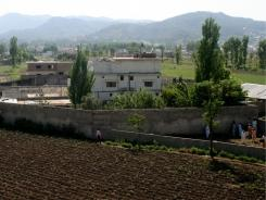 A view of Osama bin Laden's compound in Abbottabad, Pakistan. President Obama told the BBC he would order a similar raid if necessary.