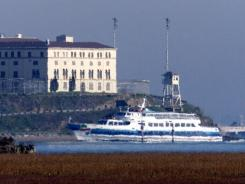 San Quentin State Prison in Marin County, north of San Francisco.