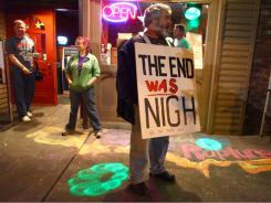 Groups of local atheists gathered at Dorky's Arcade in Tacoma, Wash., on Saturday, the day that radio minister Harold Camping predicted would be the beginning of rapture.