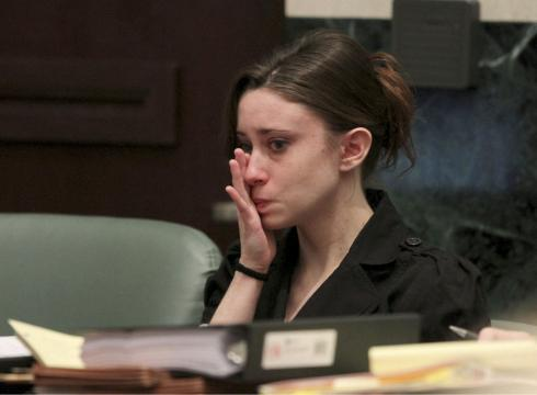 casey anthony photos evidence. Casey Anthony listens to the