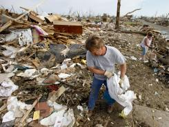 Cleaning up: Clearing the physical debris is the easy part of recovering after a disaster.