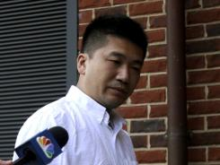 Kin Yiu Cheung arrives Friday at Caroline County General District Court in Bowling Green, Va.