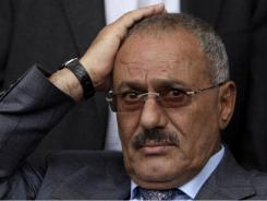 Embattled leader Ali Abdullah Saleh continues to face intense opposition from protesters.
