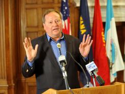 Montana Gov. Brian Schweitzer overruled a vote to repeal several clean energy tax credits last May.