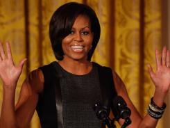 Michelle Obama: The first lady has much to offer South Africans.