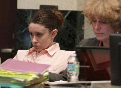 casey anthony pictures of skull. Anthony and her attorney