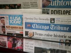 As the newspaper industry contines to decline, the little guy is left behind.