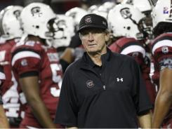 See Coach Spurrier's comment below.