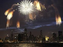 The city of Chicago has cut funding for fireworks.