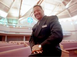 Rev. Fred Luter Jr., was elected Tuesday as first vice president of  the Southern Baptist Convention as the denomination struggles to reach out to minorities.