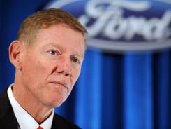 Ford CEO has said that the demise of GM and Chrysler would have meant curtains for suppliers and Ford as well.