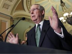 Senate Minority Leader Mitch McConnell of Kentucky says Republicans may only agree to a longer deal if further concessions are made.