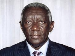 John Agyekum Kufuor served as Ghana's president from 2001- 2009. Kufuor and Luis Inacio Lula da Silva, the former president of Brazil, will receive the World Food Prize for their successful efforts to reduce by half the number of people in their countries who suffer from hunger and poverty.