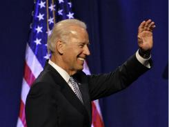 Vice President  Biden at the Ohio Democratic Party's annual state dinner.