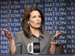Minnesota Rep. Michele Bachmann speaks on CBS' Face the Nation about Iowa poll results that show her within 1 point of Mitt Romney.