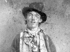 This image is believed to be the only surviving authenticated portrait of Billy the Kid.