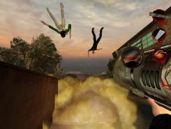 A screenshot from the video game Postal 2.