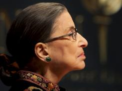 """I'm going to stay as long as I can do the job,""  Justice Ruth Bader Ginsburg says."
