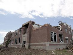 Irving Elementary School, constructed in 1927, was in the path of the May 22 tornado that ripped through Joplin, Mo.