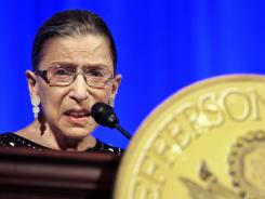 Supreme Court Associate Justice Ruth Bader Ginsburg says she won't be retiring anytime soon.