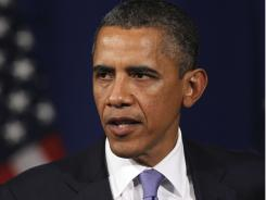 President Obama said Saturday that nothing is off limits in the budget debate, including tax increases.