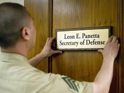 """Newly appointed Secretary of Defense Leon Panetta vowed Friday to keep the U.S. military the """"strongest"""" in the world."""