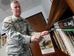 Army Command Sgt. Major Jeffery Mellinger, 58, is set to retire this summer.