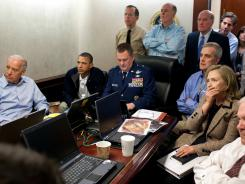 Iconic White House photo shows government leaders monitoring the operation that killed bin Laden.