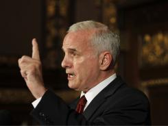 Democratic Gov. Mark Dayton � shown on June 30, hours before the budget deadline � talked with Republican lawmakers on Wednesday about how to break the impasse.