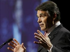 """Nothing has changed,"" an aide says about Perry's interest in the Oval Office."