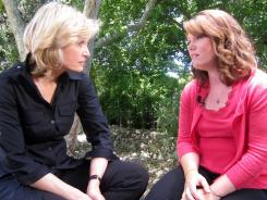ABC News' Diane Sawyer speaks with Jaycee Dugard in Ojai, Calif., in a recent interview.