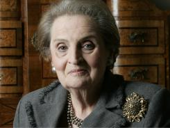 Former Secretary of State Madeleine Albright.