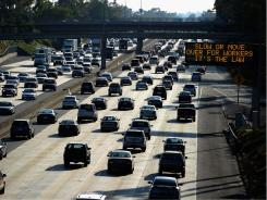 L.A. residents brace for gridlock on the nation's busiest highway.