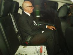 Murdoch: Leaves his London home Monday.
